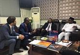 Délégation Djiboutienne à Accra
